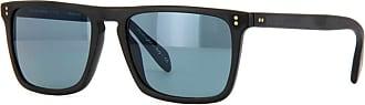 Oliver Peoples OV5189S 1031R8 Matte Black Bernado Rectangle Sunglasses Lens Cat