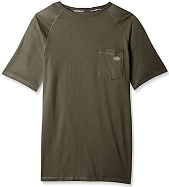 Dickies Mens Short Sleeve Performance Cooling Tee, Moss Green, XL