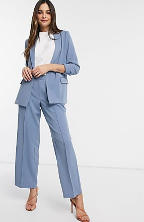 Y.A.S tailored trousers co ord in blue-Stone