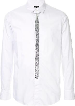 Loveless Camisa slim com aplicação - Branco
