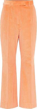 Acne Studios High-rise flared corduroy pants