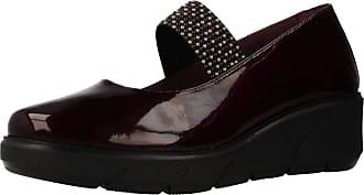 24 Horas Women Lace Shoes Women 90908 Bordeaux 5 UK
