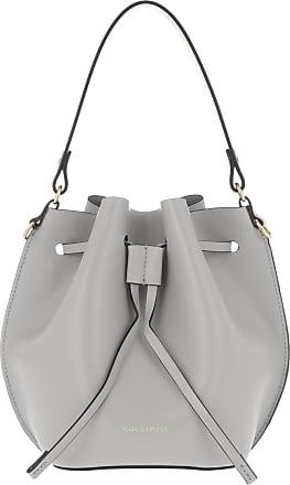 Coccinelle Fenice Bucket Bag Dolphin Bucket Bags grijs