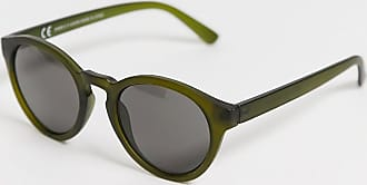Weekday trek rounded sunglasses in green