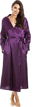 Camille Womens Purple Long Satin Wraps 22/24 Purple