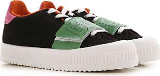 GCDS Sneakers for Women On Sale, Black, Leather, 2019, 2.5 3.5 4.5 5.5 6.5 7.5