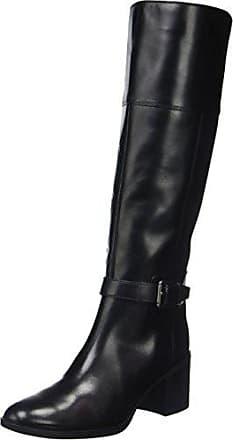 Geox D Felicity C C, Stivali Alti Donna Nero Black C9999