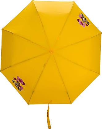 Moschino Ombrello con stampa - Di colore giallo