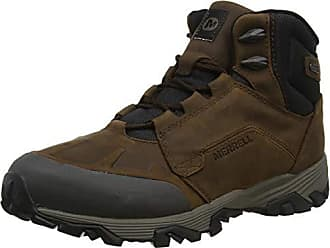 Merrell Mens COLDPACK ICE+ 8 Zip Polar WTP Snow Boot, Brown, 12 M US