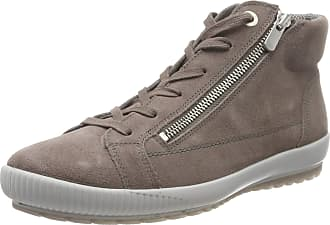 Legero Womens Tanaro Hi-Top Trainers, Grey (Dark Clay (Grau) 57), 7 UK