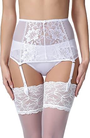 Merry Style Womens Suspender Belt MSKS912 (White, S)