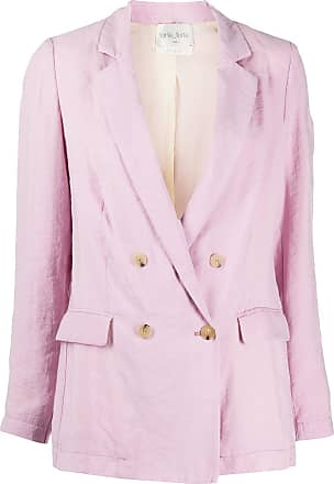 Forte_Forte double breasted blazer - PINK