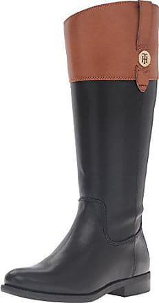 2d38ddb17 Tommy Hilfiger Womens Shano-wc Riding Boot Brown 7.5 M US