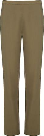 Natori Calça reta cintura alta - Verde