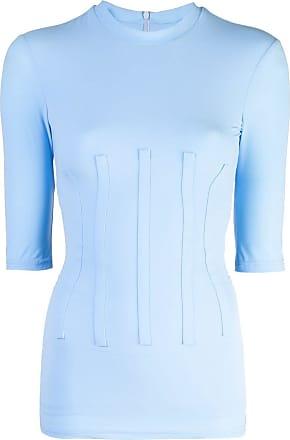 Ellery Camiseta slim mangas curtas - Azul