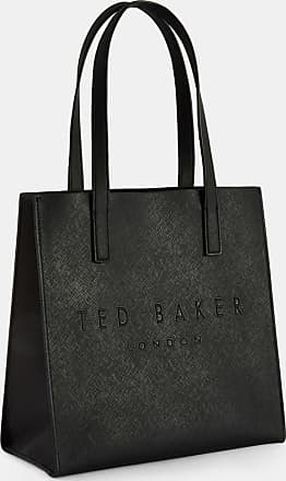 Ted Baker Crosshatch Small Icon Bag in Black SEACON, Womens Accessories