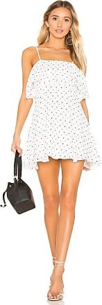 Superdown Evita Layered Dress in White