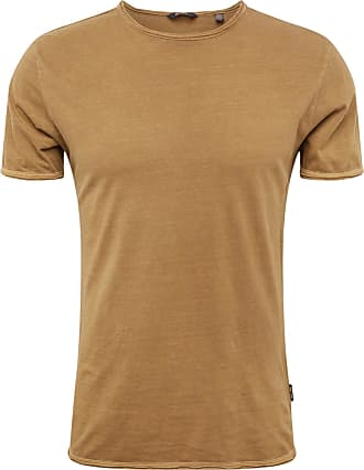 camel active lässiges Herren Shirt in olivem Used Look