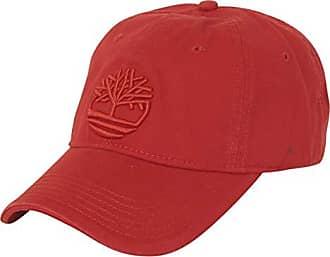 99ec7f98 Timberland Mens Cotton Canvas Baseball Cap, Tango red Tree Logo, one Size