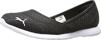 ec2351d7edf9 Puma Womens Vega Ballet Flume Walking Shoe Black Silver