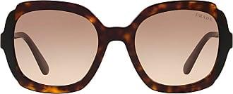 Prada Óculos de sol quadrado - Marrom