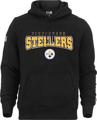 New Era Men Overwear Hoodie NFL Ultra Fan Pittsburgh Steelers Black 2XL c26ef98b2