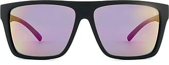 HB Óculos de Sol Hb Floyd 9011700186/60 Preto Fosco Espelhado Rosa