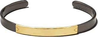 5 OCTOBRE Pulseira Bibo em ouro 14k e prata - Yellow and grey