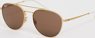 Ray-Ban 0RB3589 aviator sunglasses-Gold