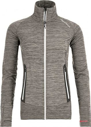 Ortovox Fleece Light Melange Jacket Wolljacke für Damen | grau