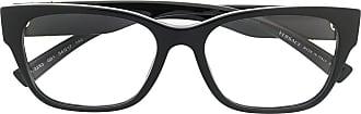 Versace Armação de óculos quadrada Virtus - Preto