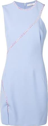 Versace Collection Vestido com aplicação - Azul