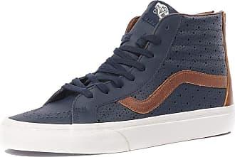 8e81042fcb Vans Sneaker Men Leather Sk8-Hi Reissue Zip Sneakers