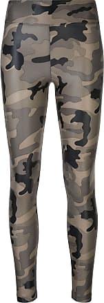 Koral Leggings con stampa camouflage - Di colore verde