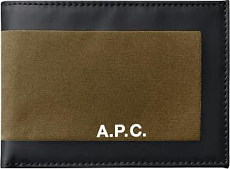 A.P.C. A.p.c. Savile card holder CAMEL U