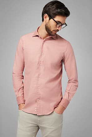 Boggi Milano camicia mattone collo bowling regular fit