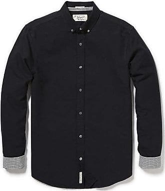 Original Penguin Core Oxford Shirt Schwarz - cotton | small