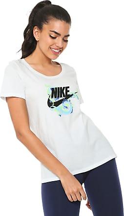 Nike Camiseta Nike Sportswear Nsw Tee Scoop Stm Branca b5e02d0bd11b3