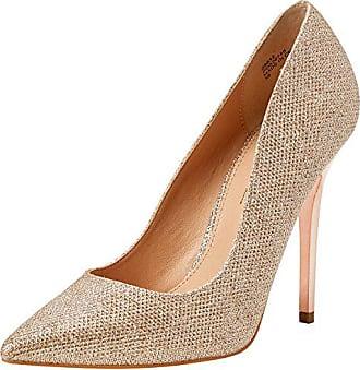Office Tops Rose Lurex 38 Escarpins Pink W Rose Gold Bout on fermé Femme qra0qw5