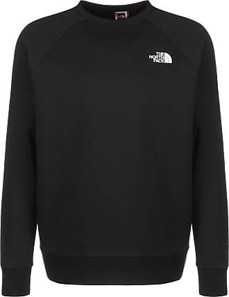 The North Face Men Long-Sleeve T-Shirt Raglan Redbox, Size:2XL, Color:tnf black/tnf white
