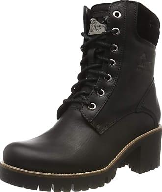 Panama Jack Womens Phoebe Combat Boots, Black (Negro B17), 4 UK