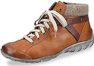 Rieker L6527-26 Schuhe Damen Stiefeletten Schnürboots Warmfutter Schuhgröße:40 Eu Farbe:braun