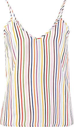 être cécile striped sleeveless top - White