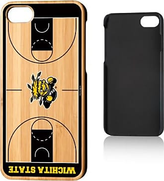 Keyscaper WSU Wichita State Shockers Basketball Court Bamboo Case for iPhone 8 / 7