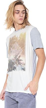 Hawaiian Dreams Camiseta HD Estampada Azul/Off-white