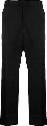 OAMC high-rise straight-leg trousers - Black