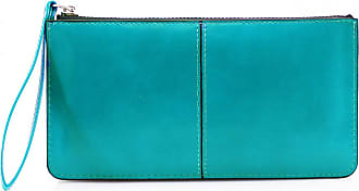 LeahWard Womens Faux Leather Wristlet Purse Nice Bag Great Brand Purses 20146 (TURQUOISE)