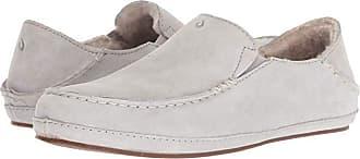 Olukai Nohea Slipper (Pale Grey) Womens Slippers
