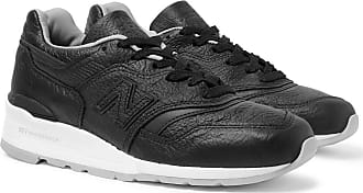New Balance M997 Full-grain Leather Sneakers - Black