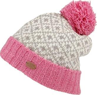 KuSan Hats Fleur de Lis Bobble Hat - Rose 1-Size
